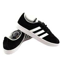 Adidas VL COURT 2.0 DA9887 Women's Shoes Sneakers Black White Skateboard US 7.5