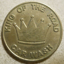 King of the Road Car Wash (Austin, Texas) token - TX500L