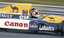 Nigel Mansell - 30x20 Inch Canvas Formula One Willaims Picture F1 Print Art