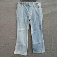 "Vintage MAVERICK BootCut Men's  Jeans Waist 32"" X L 28"" Made in USA."