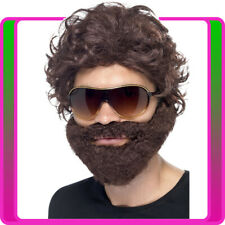 Alan Hangover Brown Stag Do Kit Wig Beard Sunglasses Mens Costume Accessories