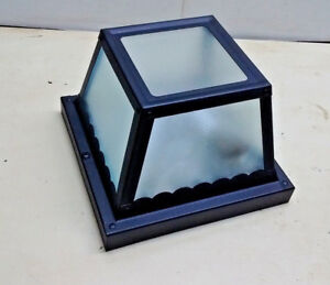 Savoy House Exterior Frosted 1 Light 8 inch Black Outdoor Flush Mount Black