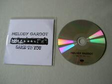 MELODY GARDOT Same To You promo CD single