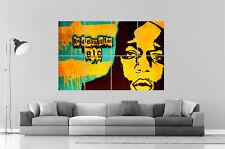 The Notorious B.I.G legendary rapper Wall Art Poster Grand format A0