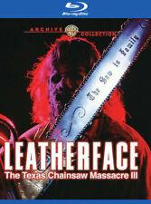 Leatherface The Texas Chainsaw Massacre III Blu-ray