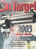 On Target May, 2003, Editors Choice Awards