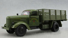 Jiefang 1:32 Military truck Diecast Model Truck Kids toy&light Sound Army Green