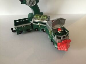 Fisher Price GeoTrax Green Alpine & Will Engine Remote Control Train