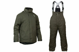 Fox Green & Silver Winter Suit