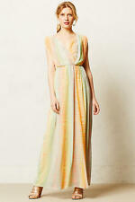NWT - ANTHROPOLOGIE - FLEUR WOOD - Solen Maxi Dress - size 0P (Multi-Color) $198