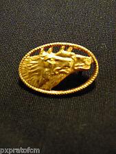 Spilla Militare Lupi di Toscana 78° Reggimento Fanteria Esercito Italiano Dorata