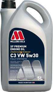 Millers Oils XF Premium 5w30 VW 504 00,507 00 Approved Engine Oil 5L 5862-5L