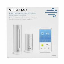 OPEN BOX Netatmo NWS01 Weather Station with Wireless Outdoor Sensor in Gray