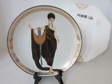 House Of Erte Plate Glamour Ltd Ed Hd1537 Franklin Mint Plate