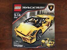 LEGO 8169 Racers Lamborghini Gallardo LP 560-4 New in Sealed Box.