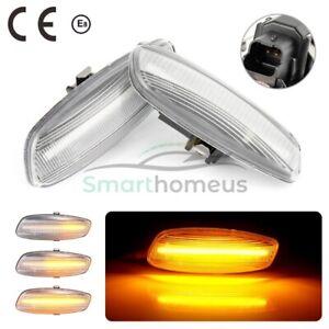 For Peugeot 207 308 408 3008 5008 RCZ Dynamic LED Side Indicator Repeater Light