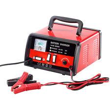 Lescars Automatisches Profi-Batterieladegerät für 12 / 24 Volt, max. 15 A
