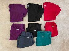 greys anatomy scrubs women's xs top and xxsp pants, multiple color sets