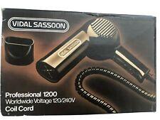 Vintage Vidal Sassoon Professional 1200 Hair Dryer VS-220 New In Box 1980s
