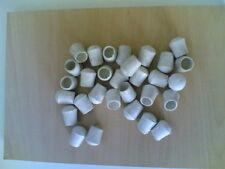 Tappi sedie in gomma bianchi diametro 16 mm 20 pezzi