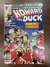 Howard the Duck #13 Marvel, 1977 1st Full Kiss Appearance