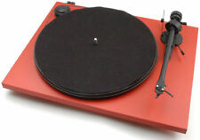 Pro-Ject Essential II Phono USB OM5E turntable. (Red) - Brand new with warranty.