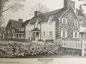 Penn State University The Behrend College 2 Prints-Pencil origin-by Clair McLain