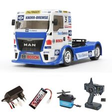 Tamiya 1:14 RC Team Hahn Racing MAN TGS TT-01E 2,4Ghz Komplettset - 300058632SET