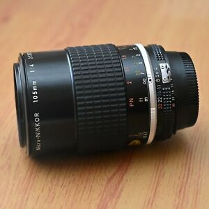 Nikon Micro Nikkor 105mm f/4  Macro Lens - Excellent - BARGAIN - Free Shipping