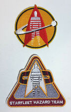"Star Trek:Starfleet Hazard Team 4"" & 3"" Logo Patch Set of 2  (STPA-SFC-8)"