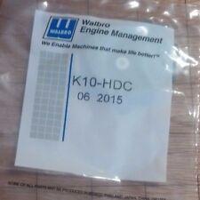 OEM WALBRO HDC CARB REPAIR Rebuild KIT COMPLETE Homelite 350 360 AUTO