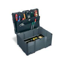 Tanos Werkzeug-Systainer T-Loc III anthrazit 2tlg mit Deckel + Einsatz 80500016
