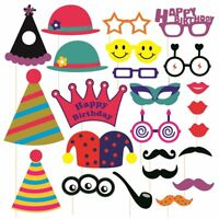PHOTO BOOTH PARTY PROPS FOR PARTIES & SELFIE LOVERS IN VARIOUS THEMES