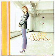 "AMBER - 5""CD - Colour Of Love (Radio Edit & Pop Mix) Tommy Boy"