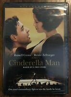 Cinderella Man movie starring Russell Crowe, Renee Zellweger, True Story NEW DVD