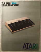 1983 Atari 800XL Home Computer Owners Guide Manual C061859 Rev A