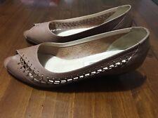 Women's Jamie 'Lace Sand' Leather Shoe, Caramel, Size 9b