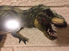 "Tyrannosaurus Rex Dinosaur Logo Aluminum Animal Lizard Sign 9 x 12"" New"