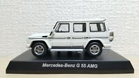1/64 Kyosho MERCEDES BENZ G-CLASS G 55 AMG WHITE diecast car model