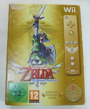 The Legend of Zelda: Skyward Sword Limited Edition Pack Gold Remote – Wii NEW