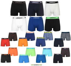 2x Lonsdale Mens Underwear Boxer Briefs Trunks Cotton XS S M L XL 2XL 3XL 4XL