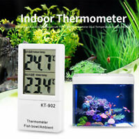 Aquarium Thermometer Temperatur Anzeige Messer Termometer Digital LCD Hygrometer