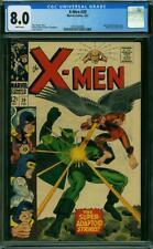 X-Men #29 CGC 8.0 -- 1967 -- Super Adaptoid. Mimic leaves. #2010584008