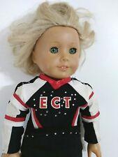 American Girl Doll Blonde Hair Green Eyes 2012 Soft Body Hard Plastic Head Limbs