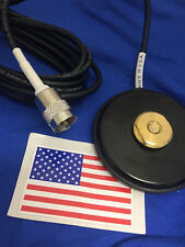 MAGNET BASE NMO MOUNT PL-259 UHF MAGNETIC  UHF VHF ANTENNA BASE NMO MADE IN USA