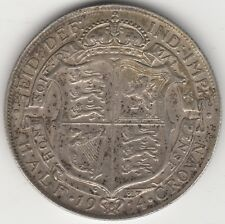 1914 George V Silver Half Crown | Pennies2Pounds