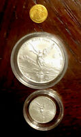lot Silver  999 Fractional Rounds 1/4 Oz  1/20 Oz .999 Libertad #5144