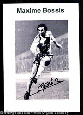 Maxime Bossis Frankreich TOP Foto Orig. Sign.  + G 9069