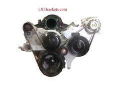 LQ/LS1/LS Alternator,S10,Power Steering  Intake Manifold Swap, Idler relocate