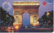 TK Telefonkarte/Phonecard Sprint Paris 1994 10u Auflage 2000 Stück !
